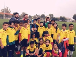 ASES Soccer Tournament Champions